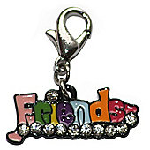 Friends Clip on Charm