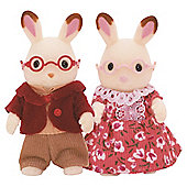 Sylvanian Families - Chocolate Rabbit Grandparents