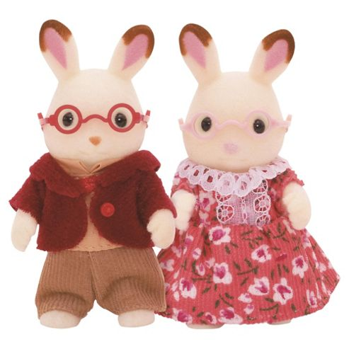 Sylvanian Families - Chocolate Rabbit Grandparents