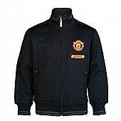 2012-13 Man Utd Nike Authentic N98 Jacket (Black) - Black