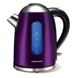 Morphy Richards 43917 1.5 litre Meno Plum Jug Kettle