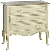 Hill Interiors Country 3 Drawer Chest
