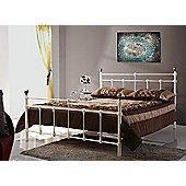 Birlea Atlas Bed Frame - Small Double - Cream
