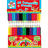 Mini Colouring Pencils (36pk)