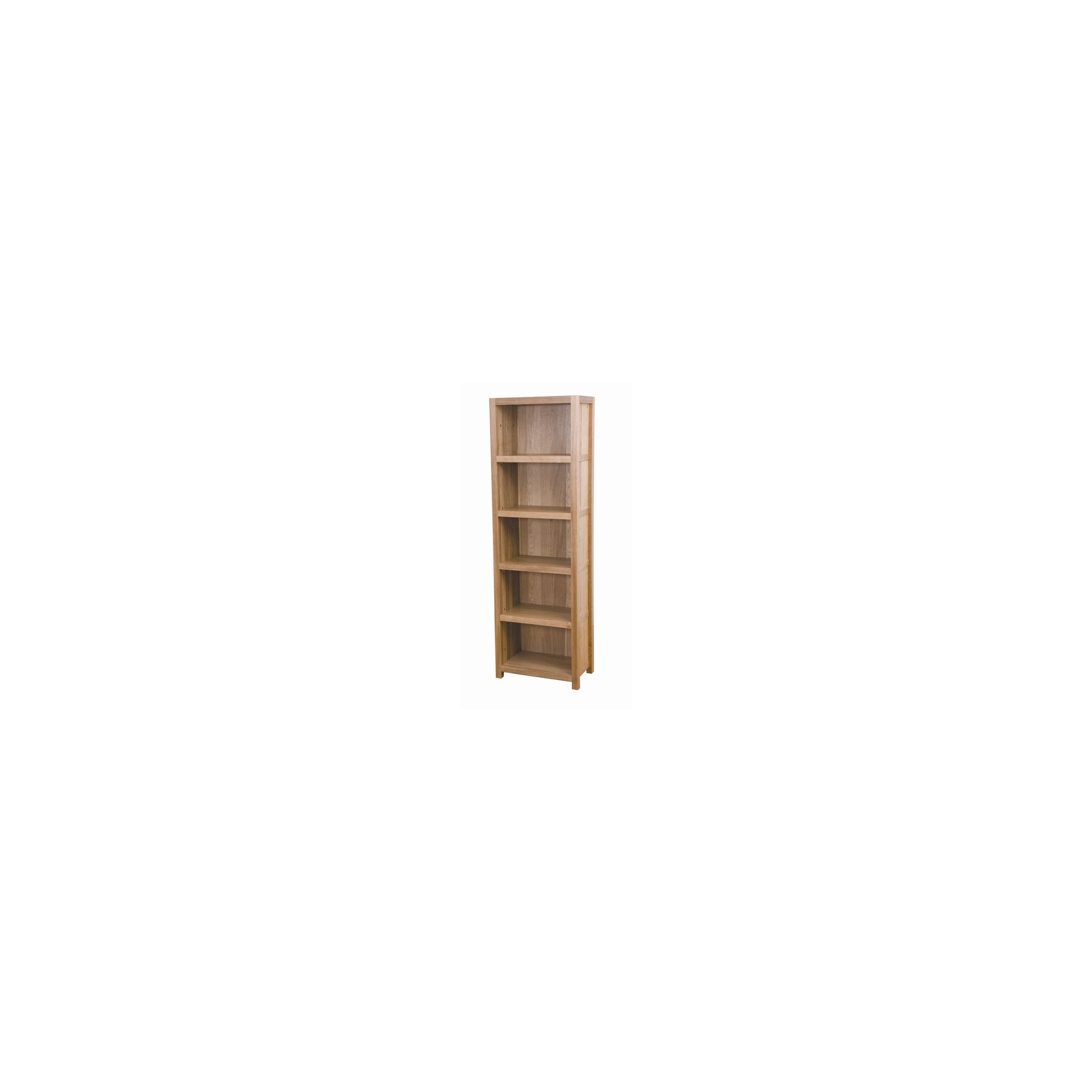 G&P Furniture Tall Oak Bookcase at Tesco Direct