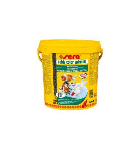 Sera Goldy colour Spirulina Fish Food - 1000 ml