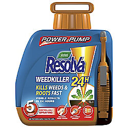 Resolva 24 Hour Weedkiller Power Pump, 5L