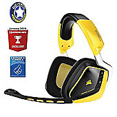 Corsair Gaming VOID RGB SE Wireless Dolby 7.1 Gaming Headset - Special Edition Yellow Jacket