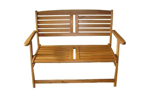 Mir Atlantic Acacia Folding Bench 2 Seater