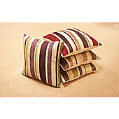 Dreams N Drapes Curtina Corsica Cushion - Aubergine - No