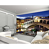 1Wall Giant Venice Rialto Bridge Wall Mural