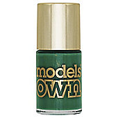 Models Own Diamond Luxe Nail colour - Emerald Green