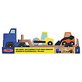 Wooden Toys - Low Loader - Melissa & Doug