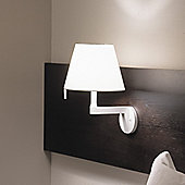 Artemide Melampo Wall Lamp - Aluminium Grey - No