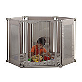 Lindam Safe & Secure Fabric Playpen - Natural