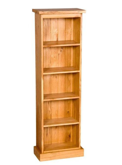 Elements Rustic Oak Double DVD Rack