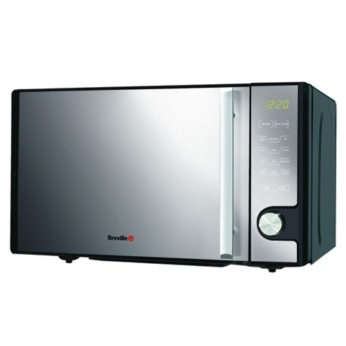 Breville VMW176 Microwave Oven with Grill, Black