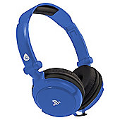 4GAMERS LICENSED PRO4-10 HEADSET - BLUE PS4
