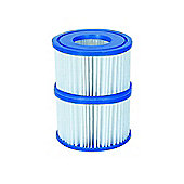 Filter Cartridge VI for Lay-Z-Spa Miami, Vegas, Monaco 24x Twin Pack