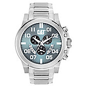 CAT Mens Stainless Steel Chronograph, Date Watch PS.143.11.331