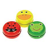 Bigjigs Toys Animal Yo-Yos (Pack of 3)