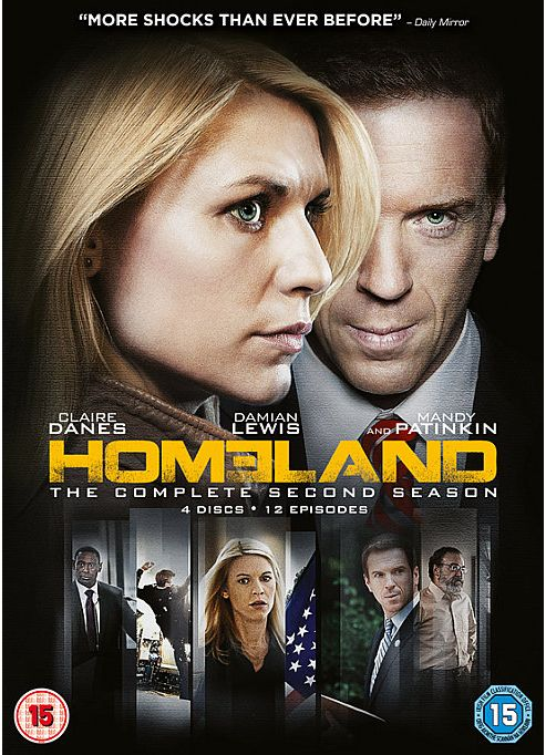 Homeland Season 2 - (DVD Boxset)