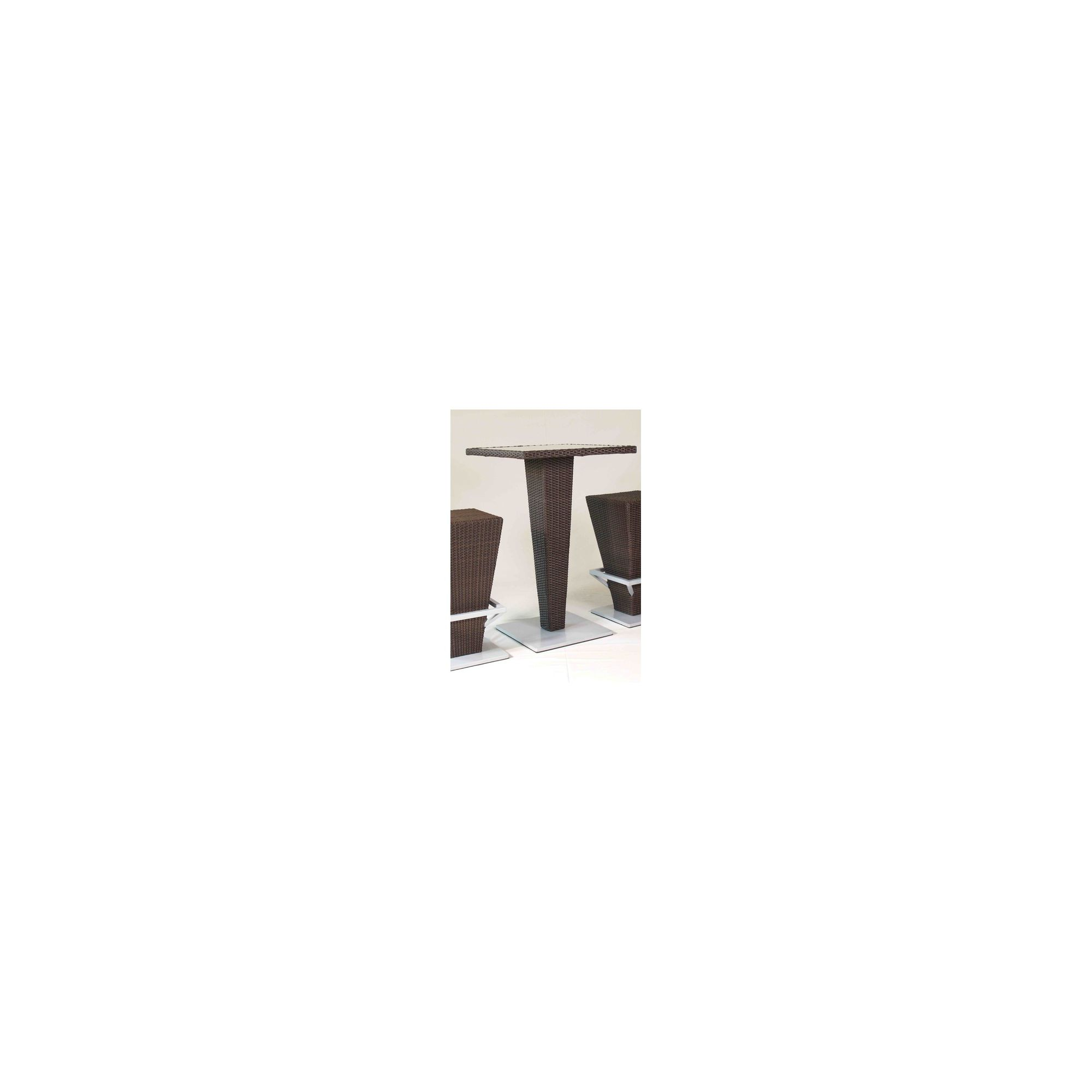 SkyLine Design Liada Bar Table - Dark Brown 8mm at Tesco Direct