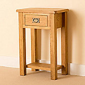 Lanner Telephone Table - Rustic Oak