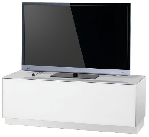 Sonorous Elements White TV Stand for up to 55 inch TVs