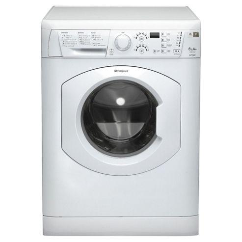 Hotpoint HY6F3551P Washing Machine , 6Kg Load, 1350 RPM Spin, Polar