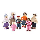 Doll Family Caucasian