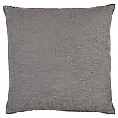 Tesco Chenille Grey Cushion