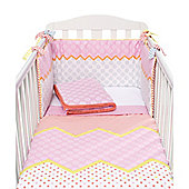 Mothercare My World Baby Bedding Colour Bed In A Bag Size cot bed