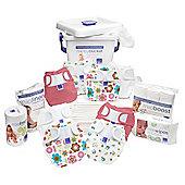 Bambino Mio Miosoft Two-Piece Premium Birth to Potty Pack (Girl)