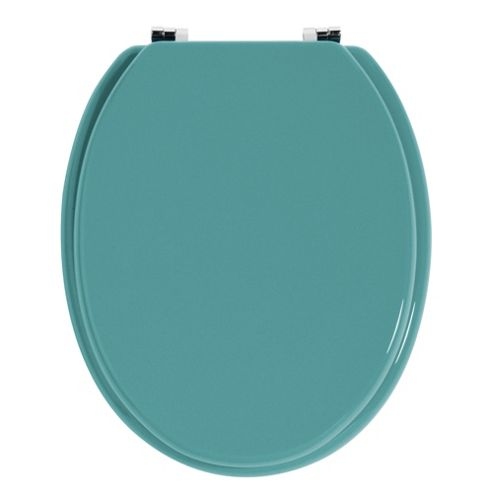 Premier Housewares Toilet Seat - Turquoise
