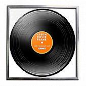 Record Album Frame - Silver