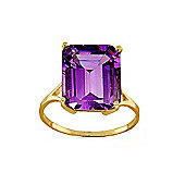 QP Jewellers 6.50ct Amethyst Auroral Ring in 14K Gold