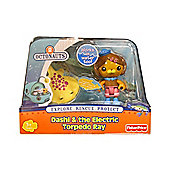 Octonauts Figure and Creature Pack Dashi And The Electric Torpedo Ray