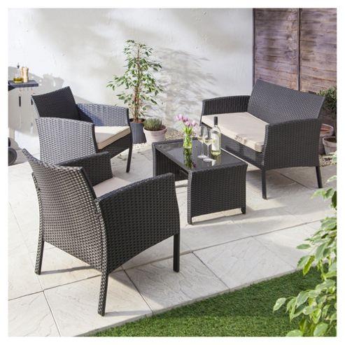 buy marrakech 4 piece rattan garden furniture set from our. Black Bedroom Furniture Sets. Home Design Ideas