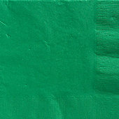 Green Dinner Napkins - 3ply Paper