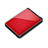 Buffalo MiniStation Extreme 500GB 2.5 inch Portable Hard Drive - Red