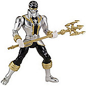 Power Rangers Super Megaforce - 12.5cm Silver Ranger Action Hero Figure