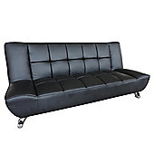 Home Zone Vogue Sofa Bed - Black