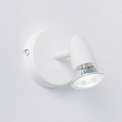 Endon Lighting Wall Spot Light in White