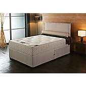 Vogue Beds Natural Touch Pocket Synergy 2000 Platform Divan Bed - Single / Without Drawer