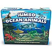 Learning Resources Jumbo Ocean Animals Set Of 6