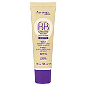 Rimmel London BB Cream Matte, Light