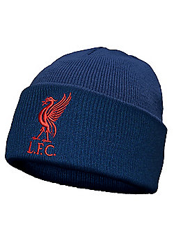 Liverpool FC Knitted Hat Liverbird - Blue