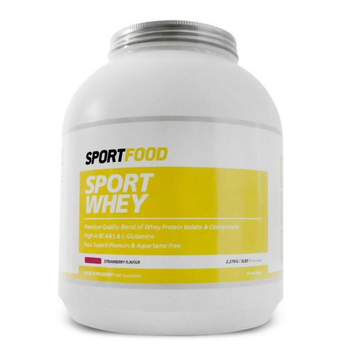 Sportfood Sport Whey 2.27kg - Strawberry