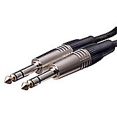 Deluxe Jack to Jack Balanced Instrument Cable - 1m